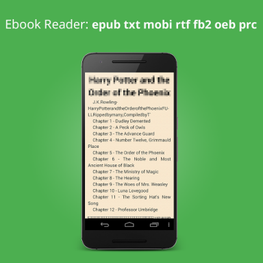 ebook reader mobi epub pdf