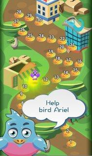 Birds Bomber match3 screenshot 2
