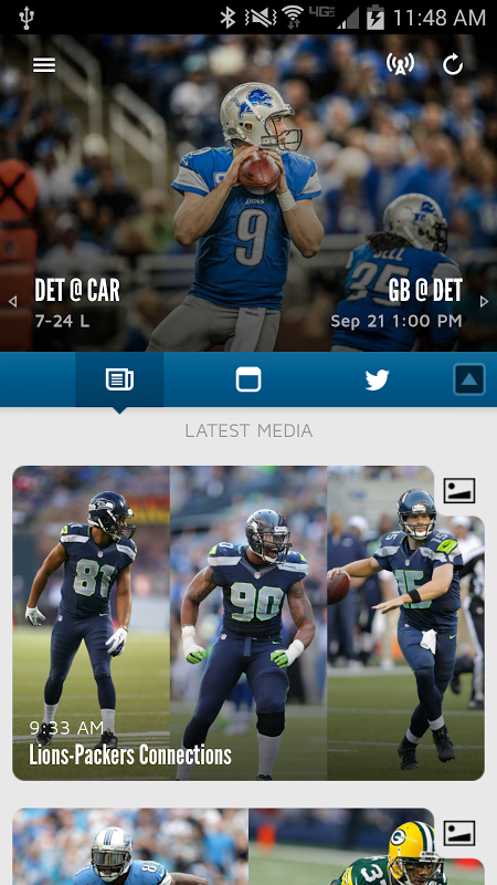 Detroit Lions screenshot 1