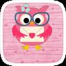 Pink Owl Theme simge