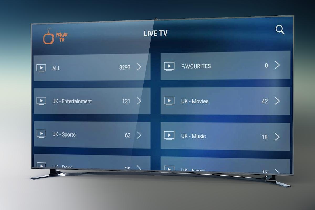 Pekan TV Box - Watch IPTV Live, Movies, Series screenshot 2