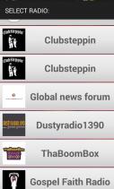 FastCast4u Demo App Screenshot