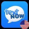 TextNow - Free US Phone Number Icon