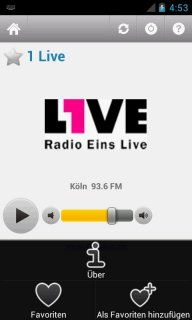 Deutsche Radio screenshot 4