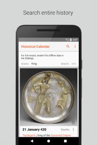 Historical Calendar - Events and Quizzes screenshot 5