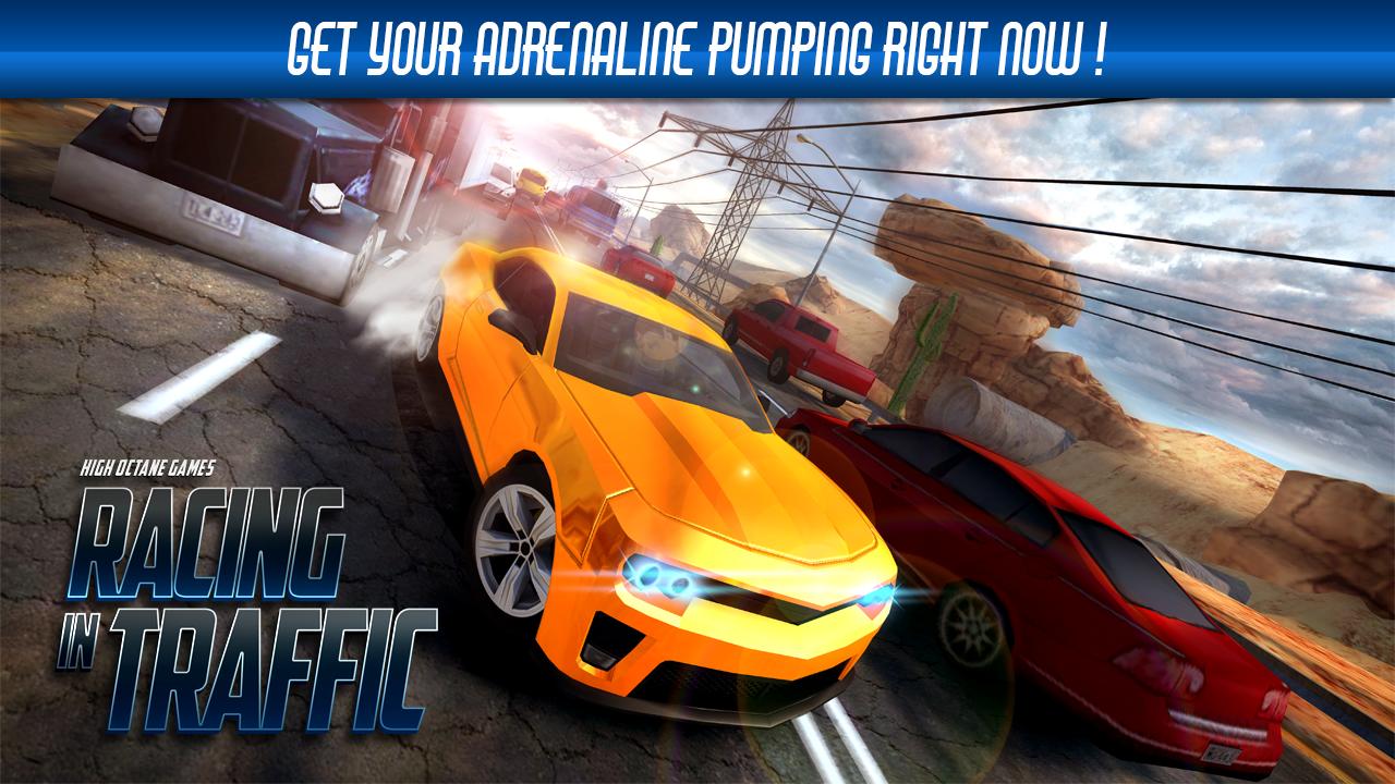 Racing In Traffic screenshot 1