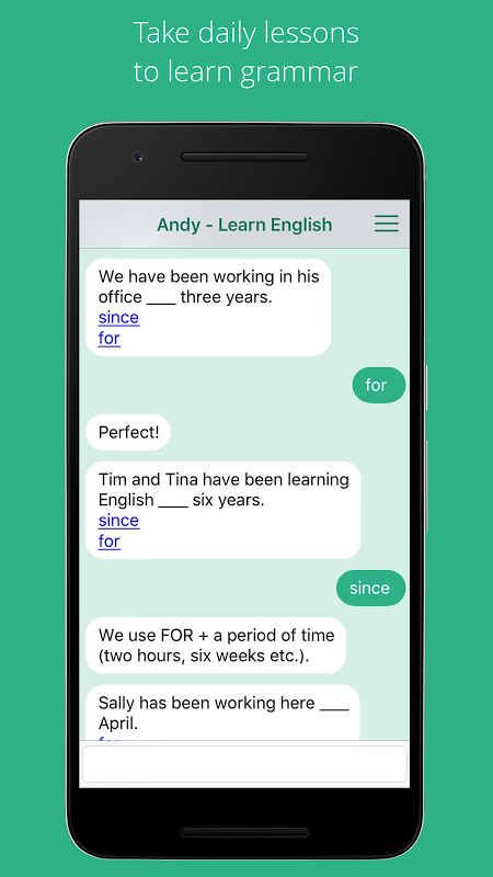 Andy English Bot Unlimited screenshot 2