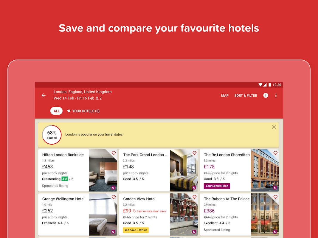 Hotels.com: Search Hotel Rooms & Book your Travel screenshot 3