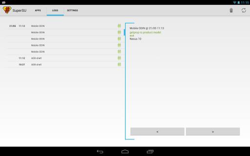 SuperSU screenshot 6