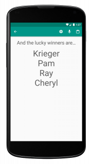 Random Name Picker - Raffles, Decisions, Groups screenshot 4