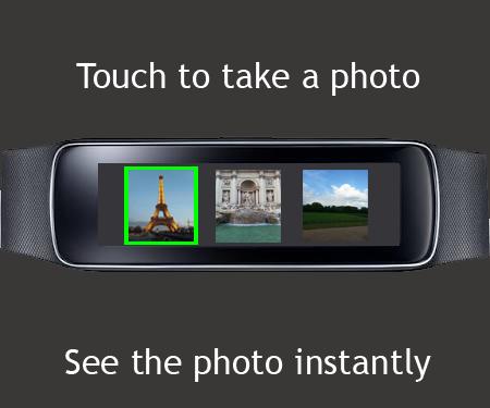 Gear Fit Camera screenshot 1