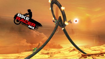 Bike Racer Screen
