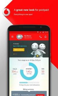 MyVodafone (India) screenshot 1
