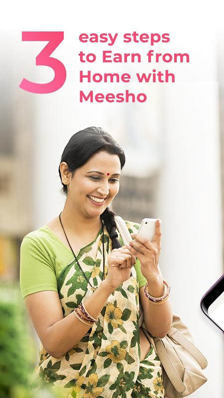 Meesho: Earn Money Online using Work from Home App screenshot 1