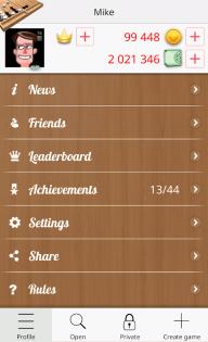 Backgammon Online screenshot 5