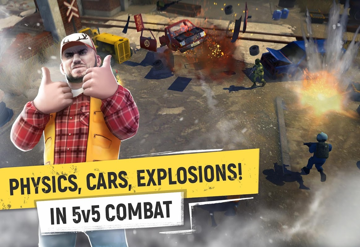 Tacticool - 5v5 shooter screenshot 1