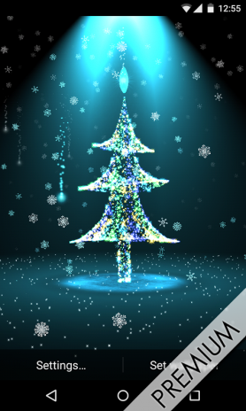 christmas tree live wallpaper screenshot 8