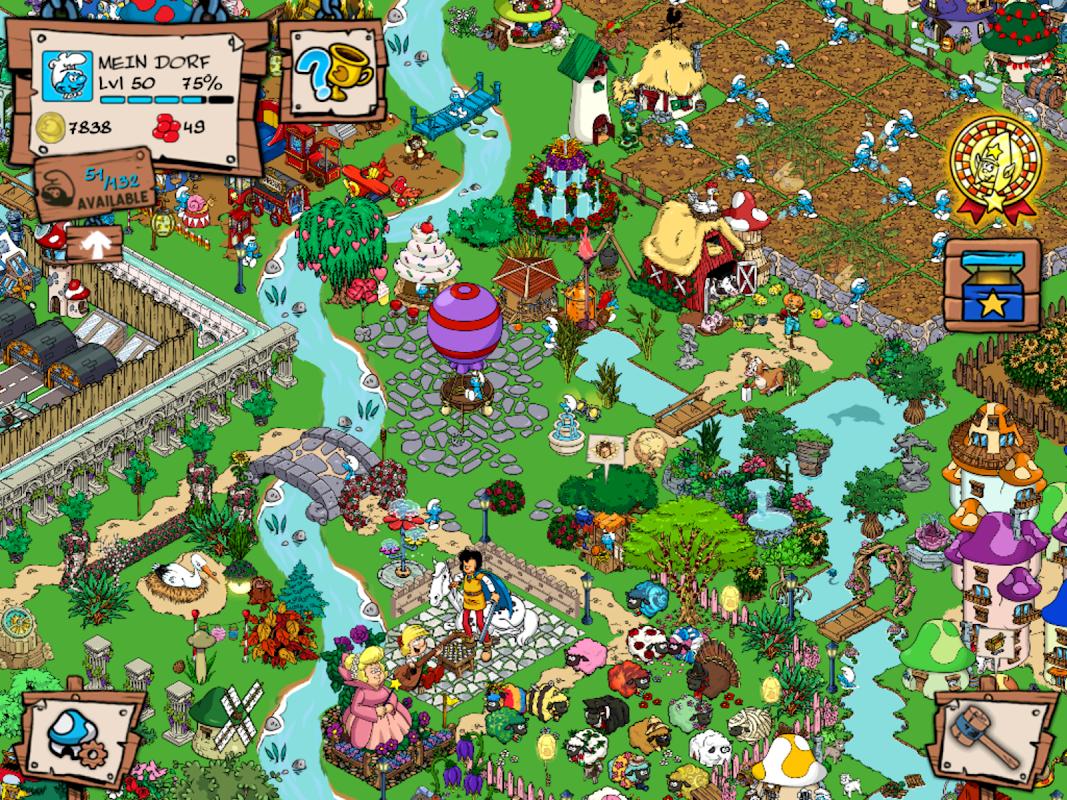 Smurfs' Village screenshot 2