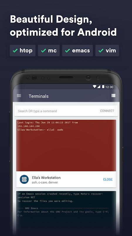 Termius - SSH/SFTP and Telnet client screenshot 2