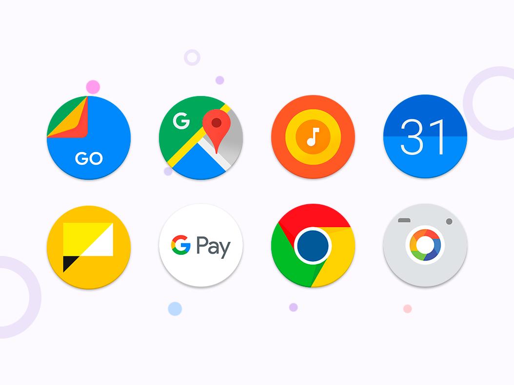 Pixel - icon pack (no ads) screenshot 1