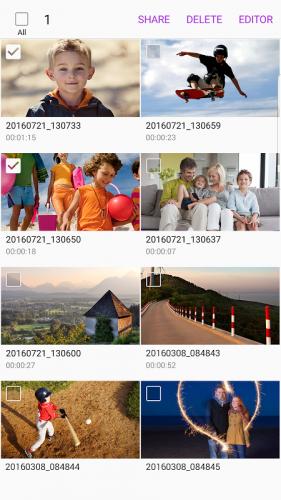 Samsung Video Library screenshot 3