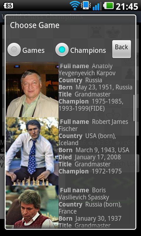 World Chess Champions screenshot 2