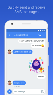 Android Messages screenshot 1