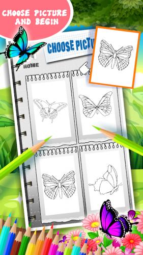 Kelebek Boyama Kitabi 1 2 Android Apk Sini Indir Aptoide