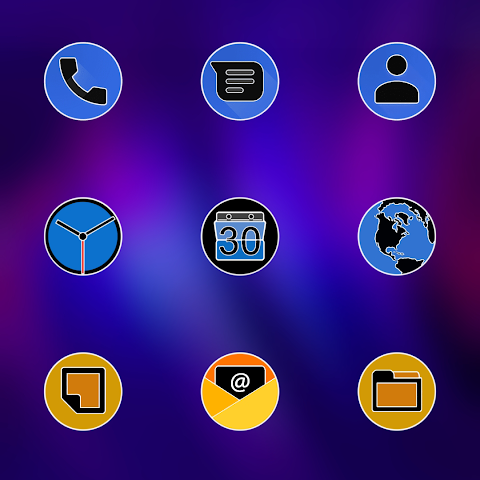 PIXEL FLUO - ICON PACK screenshot 2