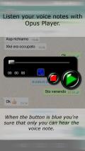 Opus Player  for WhatsApp Screenshot