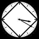 Aplicativo de horário limpo