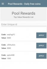 pool rewards daily free coins screenshot 4