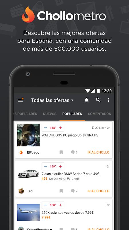 Chollometro – Chollos, ofertas y cosas gratis screenshot 1