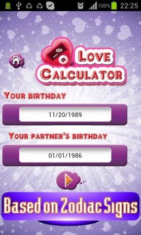 birthday compatibility calculator Love Test (Love Calculator) 2.0 Download APK for Android   Aptoide birthday compatibility calculator