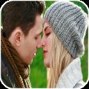 Couple Kiss HD Wallpaper