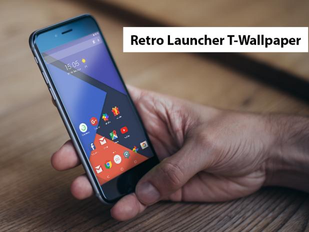 Retro Launcher T Wallpaper 10 загрузить Apk для Android