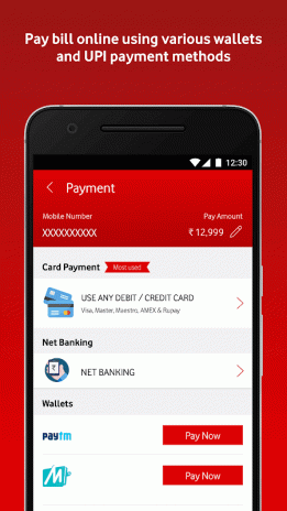 MyVodafone (India) - Online Recharge & Pay Bills 8 0 2 1