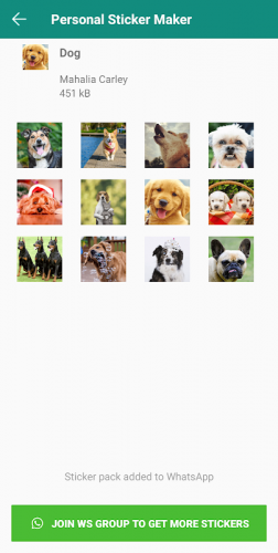 Personal Stickers - Let photo to personal sticker. screenshot 4