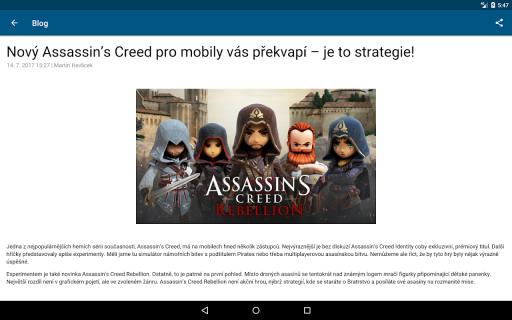 Aplikace od O2 screenshot 12