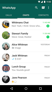 WhatsApp Messenger screenshot 7