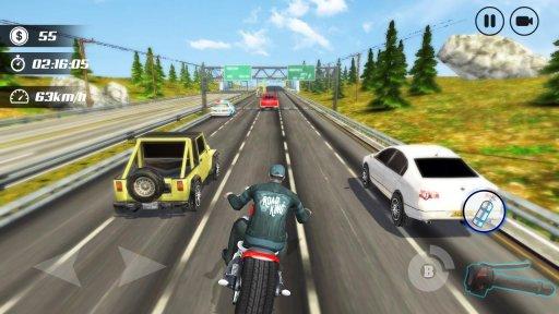 Highway Moto Rider - Traffic Race screenshot 3