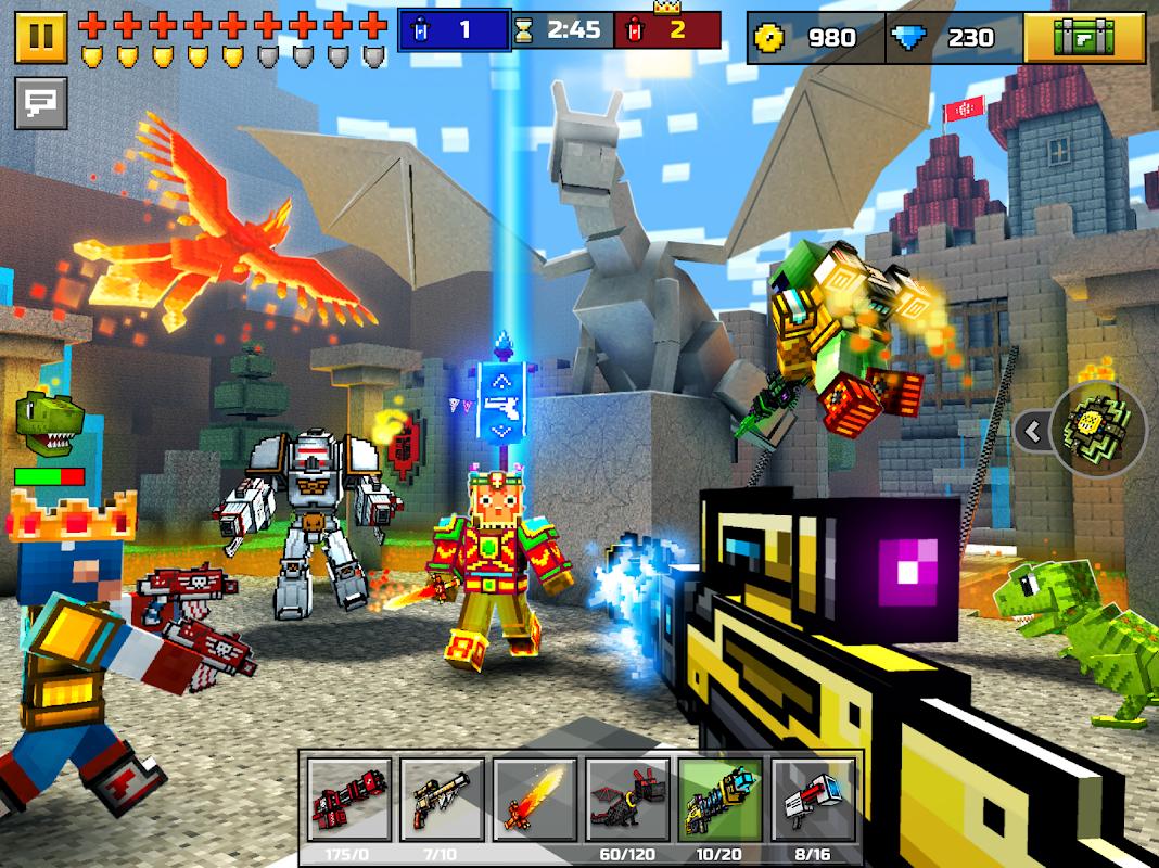 Pixel Gun 3D screenshot 1