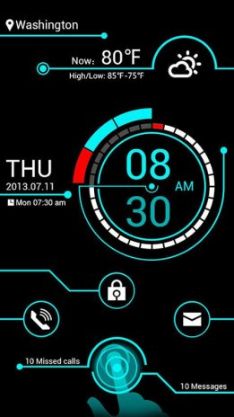 GO Locker Theme Electricity 1 00 Download APK for Android
