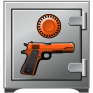gun safe icon