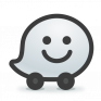 waze sat nav maps traffic icon