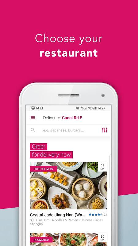 foodpanda - Local Food Delivery screenshot 1
