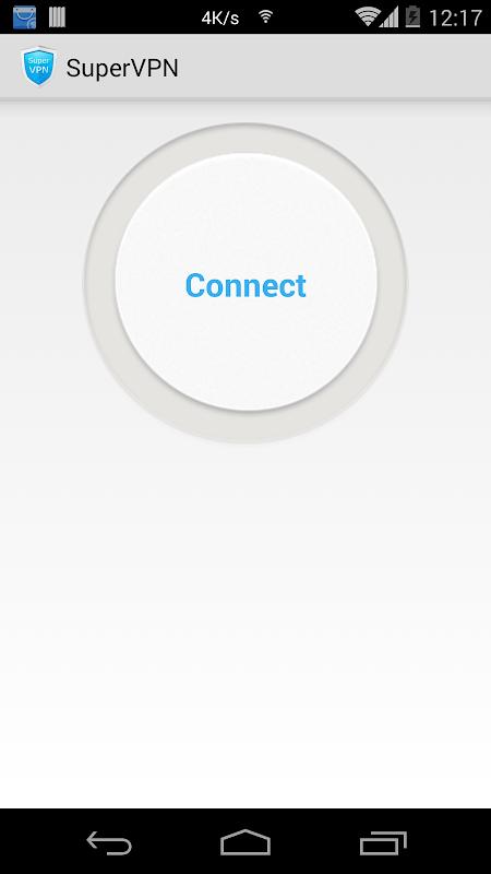 SuperVPN Free VPN Client screenshot 1