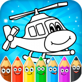 Coloring pages for children Icon