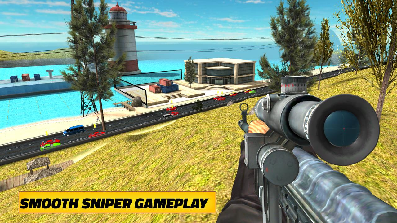Highway Sniper 3D 2019: Free Shooting Games 3 4 Download APK para
