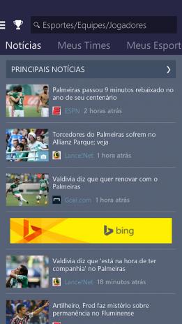 54dd267bcb MSN Esportes - Resultados 1.2.0 Baixar APK para Android - Aptoide
